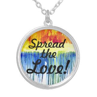 Spread the Love! Rainbow Pendant