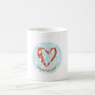 'Spread the Love' White 11 oz Classic Mug