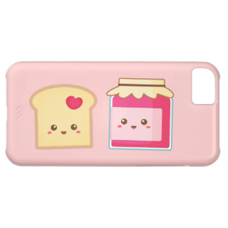 Spread the love with Cute Toast and Jam iPhone 5C Cover