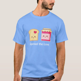 Spread the love with Cute Toast and Jam T-Shirt