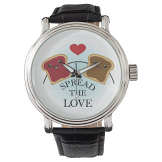 SPREAD THE LOVE WRISTWATCHES