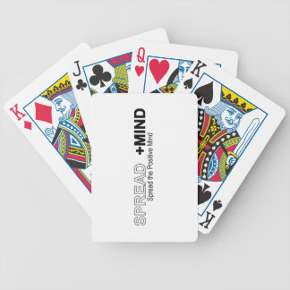 Spread The Positive Mind Bicycle Playing Cards