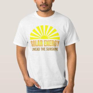 Spread the Sunshine Solar Energy tshirt
