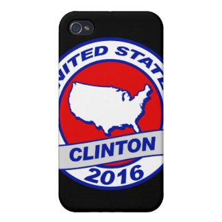 spread the vote Hillary Clinton 2016.png Case For iPhone 4
