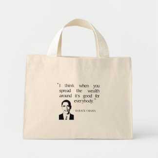 Spread the wealth around tote bags