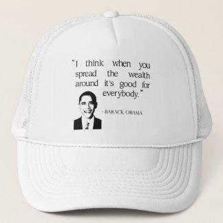 Spread the wealth around trucker hat