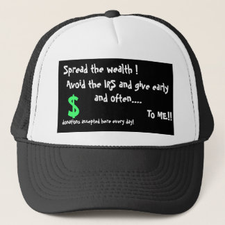 Spread the Wealth Hat