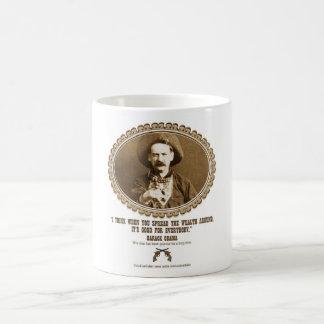 Spread the Wealth Classic White Coffee Mug