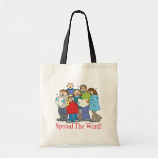 Spread The Word Budget Tote Bag