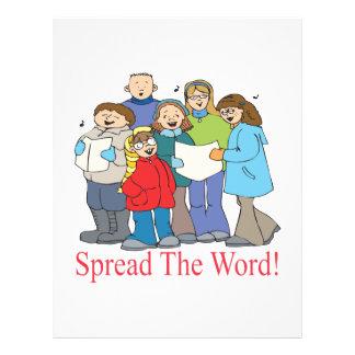 Spread The Word Custom Flyer