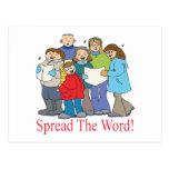 Spread The Word Postcard