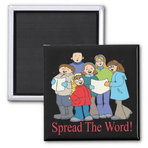 Spread The Word Refrigerator Magnets