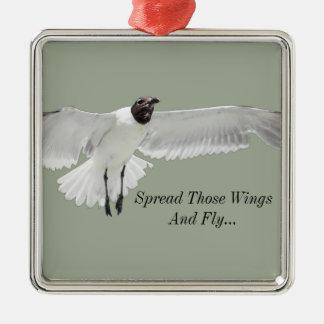 Spread Those Wings Metal Ornament