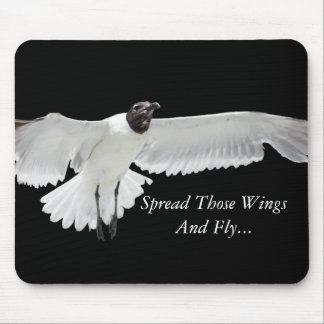 Spread Those Wings Mouse Pad
