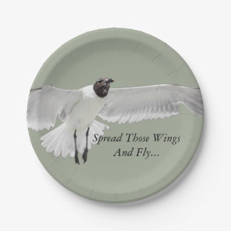 Spread Those Wings Paper Plate