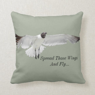 Spread Those Wings Throw Pillow