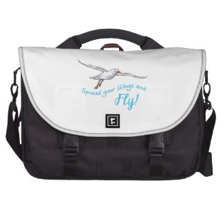 SPREAD WINGS AND FLY LAPTOP BAGS
