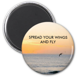 SPREAD YOUR WIN... 2 INCH ROUND MAGNET