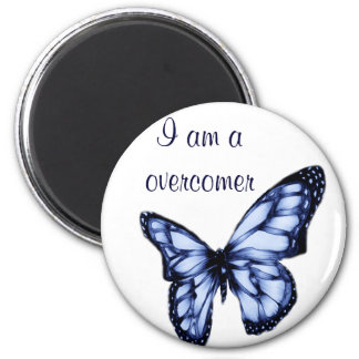 Spread your wings #3 2 inch round magnet