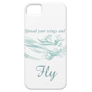 Spread Your Wings and Fly iPhone Case Cover For iPhone 5/5S
