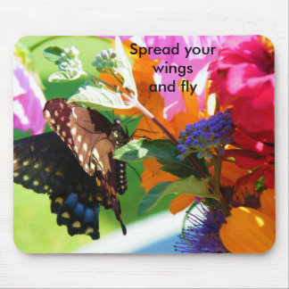 Spread your wings and fly mouse pad