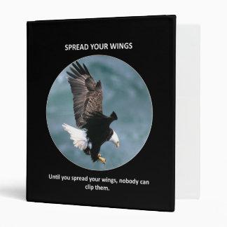spread-your-wings binder