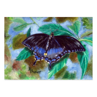 Spread Your Wings Butterfly Art Card Large Business Cards (Pack Of 100)