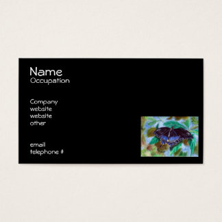 Spread Your Wings Butterfly Business Cards