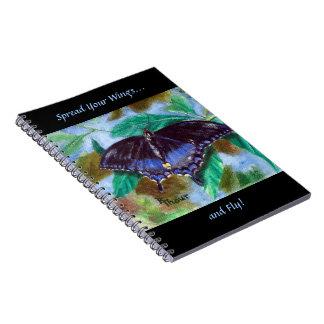 Spread Your Wings Butterfly Notebook