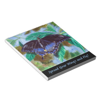 Spread Your Wings Butterfly Notepad