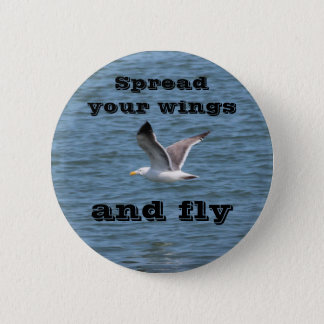 Spread your wings button