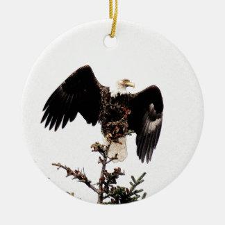 Spread Your Wings Ceramic Ornament