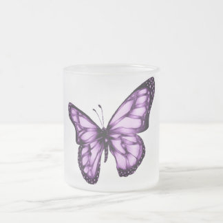 Spread Your Wings_ Frosted Glass Coffee Mug