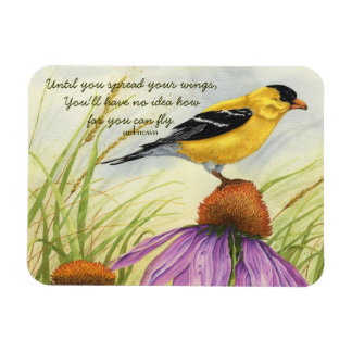 Spread Your Wings - Goldfinch Magnet