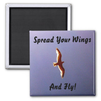 Spread Your Wings Magnet