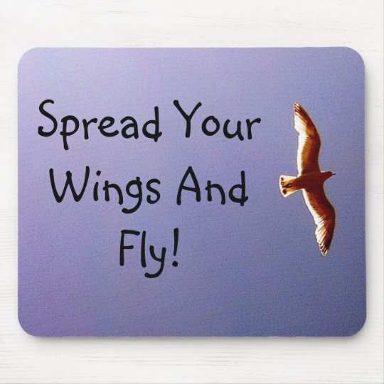 Spread Your Wings Mousepad