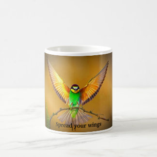 Spread your wings classic white coffee mug