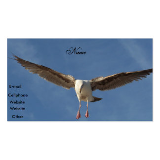 Spread your wings_Pofile Card Double-Sided Standard Business Cards (Pack Of 100)