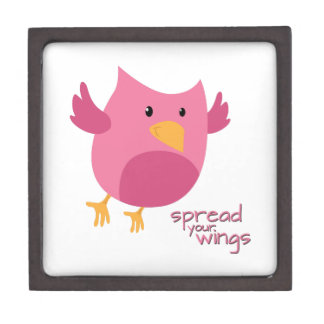 Spread Your Wings Premium Trinket Boxes