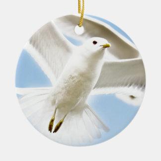 Spread your wings wild duck escape away ceramic ornament