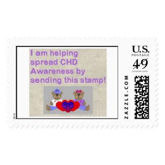 Spreading CHD Awareness Postage