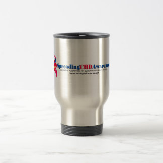 Spreading CHD Awareness Travel Mug