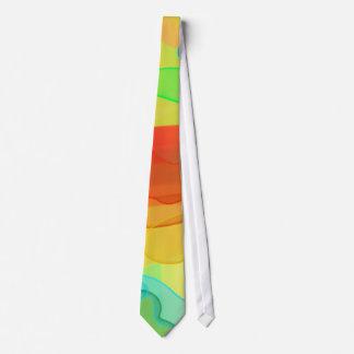 Spreading Gel in Bright Colors Tie