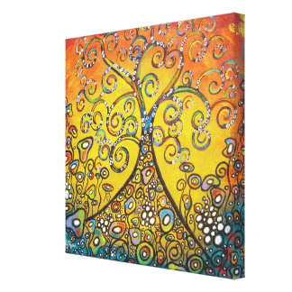 Spreading Hope Wrapped Cavnas Canvas Print