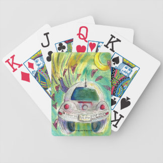 Spreading Leap Year Day Awareness Playing Cards