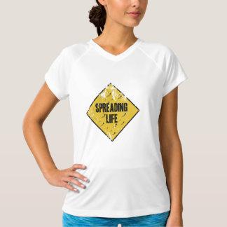 Spreading life tee shirt