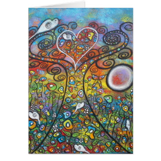Spreading Love and Peace Greeting Cards