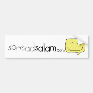 SpreadSalam Bumper Sticker