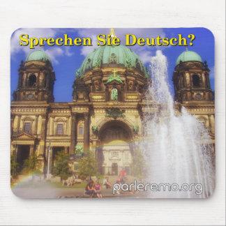 ¿Sprechen Sie Deutsch? Dom de la catedral de Tapetes De Ratón