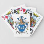 Sprecher Family Crest Poker Deck